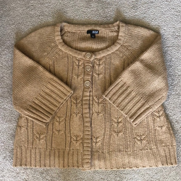 a.n.a Sweaters - Swing style cardigan sweater with bell sleeves